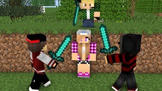 Cute girl and jack life 4 - minecraft Animations