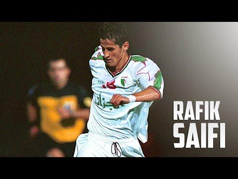 Rafik Saifi - Algerian Legend - Best Amazing Skills & Goals & Assists Compilation