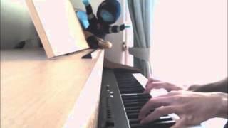弾いてみました。聴いても弾いても、いい曲ですね。
