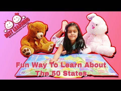 How To Learn Over 500 Facts About All The States For Kids