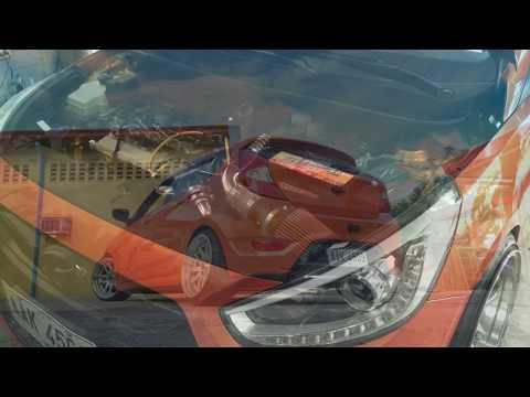 Hyundai Accent CRDI air intake and exhaust DRIFT XAUST