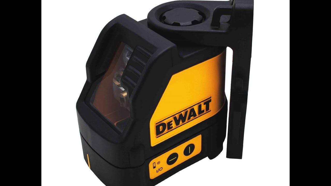 NEW DEWALT DW088CG SELF LEVELING CROSS LINE LASER LEVEL 165/' RANGE KIT 2667350