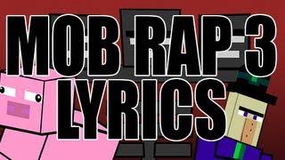 """Mob Rap, Part III"" LYRICS by JT Music - Minecraft Rap"