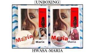 [UNBOXING] HWASA from MAMAMOO - MARIA (BOTH VERSIONS)