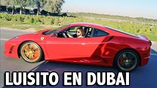 CON LUISITO COMUNICA CONDUCIENDO SUPER AUTOS EN DUBAI