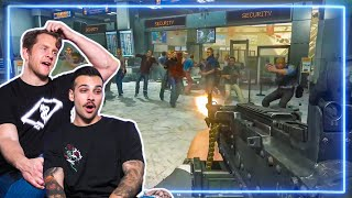 Spec Ops REACT to NO RUSSIAN and FAVELA from Call of Duty: Modern Warfare 2   Experts React