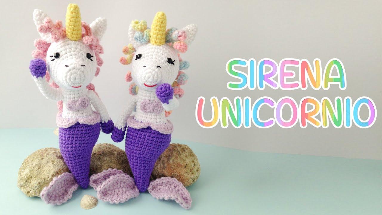 Unicornio de pie tejido | Crocheteando - YouTube | Amigurumi ... | 720x1280