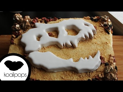 Jurassic World Fossil Cake | How To