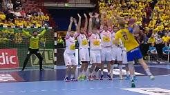 Sweden X Spain EHF EURO CUP MEN handball 2018 FULL MATCH