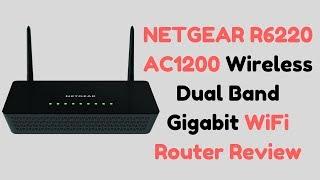 NETGEAR R6220 AC1200 Wireless Dual Band Gigabit WiFi Router