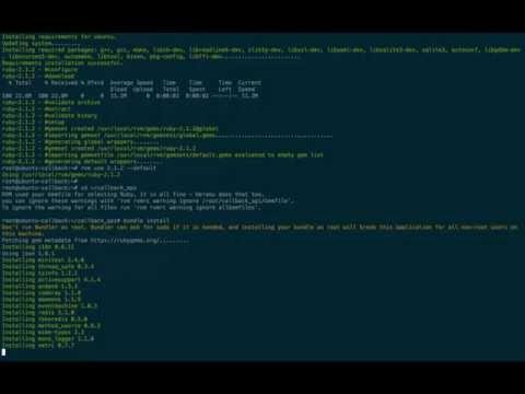 Asterisk PBX callback-api installation how-to