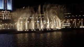 Beautiful opera and the Dubai fountain