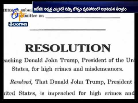 Democrat Files First Articles of Impeachment Against Donald Trump