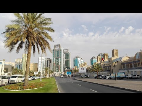 Восточнее Химок - Lou'Lou' A Beach Resort Sharjah, ОАЭ в апреле 2019