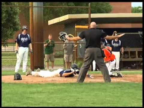 Champlin Park Downs Osseo In American Legion Baseball