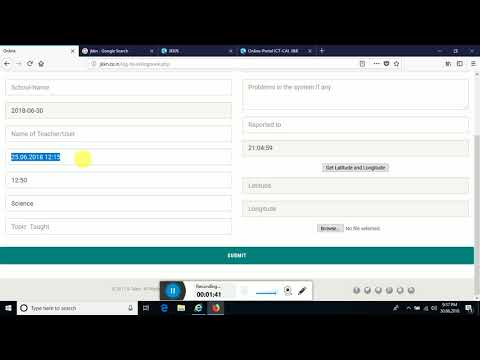 How to fill Log Book on JKKN website - YouTube