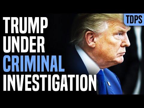 Trump Under Criminal Investigation As He Leaves Office