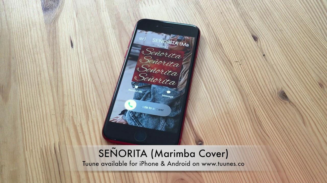 Señorita Ringtone - Shawn Mendes & Camila Cabello Tribute Marimba Cover  Ringtone Download