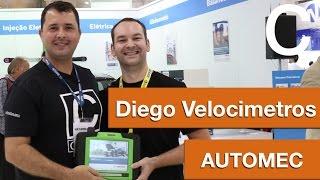 Diego Velocimetros e Dr CARRO direto do estande BOSCH na AUTOMEC 2015