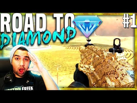 Road To DIAMOND/DARK MATTER CAMO - Black Ops 3 Assault Rifles - BO3 Gold Weapon Camo Challenges (#1)