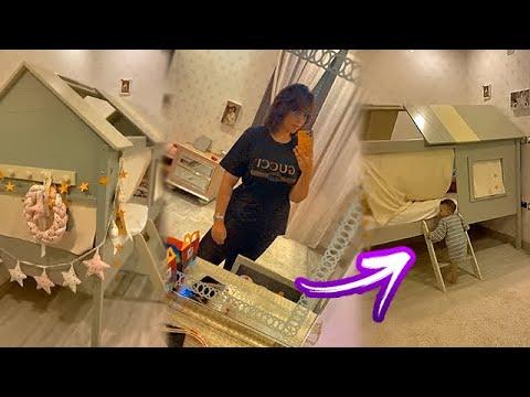 دكتورة خلود تدخل غرفة ليان وليليان قبل ما يروحون النوم ????????
