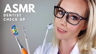 ASMR Dentist Role Play 👄 Cleaning and Yearly Examination / Check up