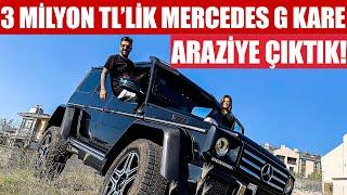 Gambar cover 3 Milyon TL'lik Mercedes G Kare ile Araziye Çıktık