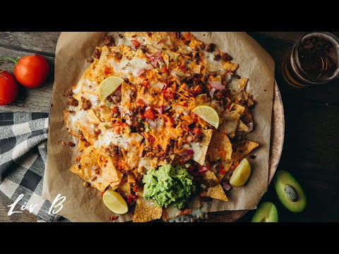 """Better Than Restaurant"" Vegan Nachos 