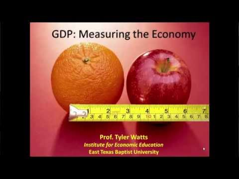 """GDP: Measuring the Economy"" (New Diana High School, 5-1-2015)"