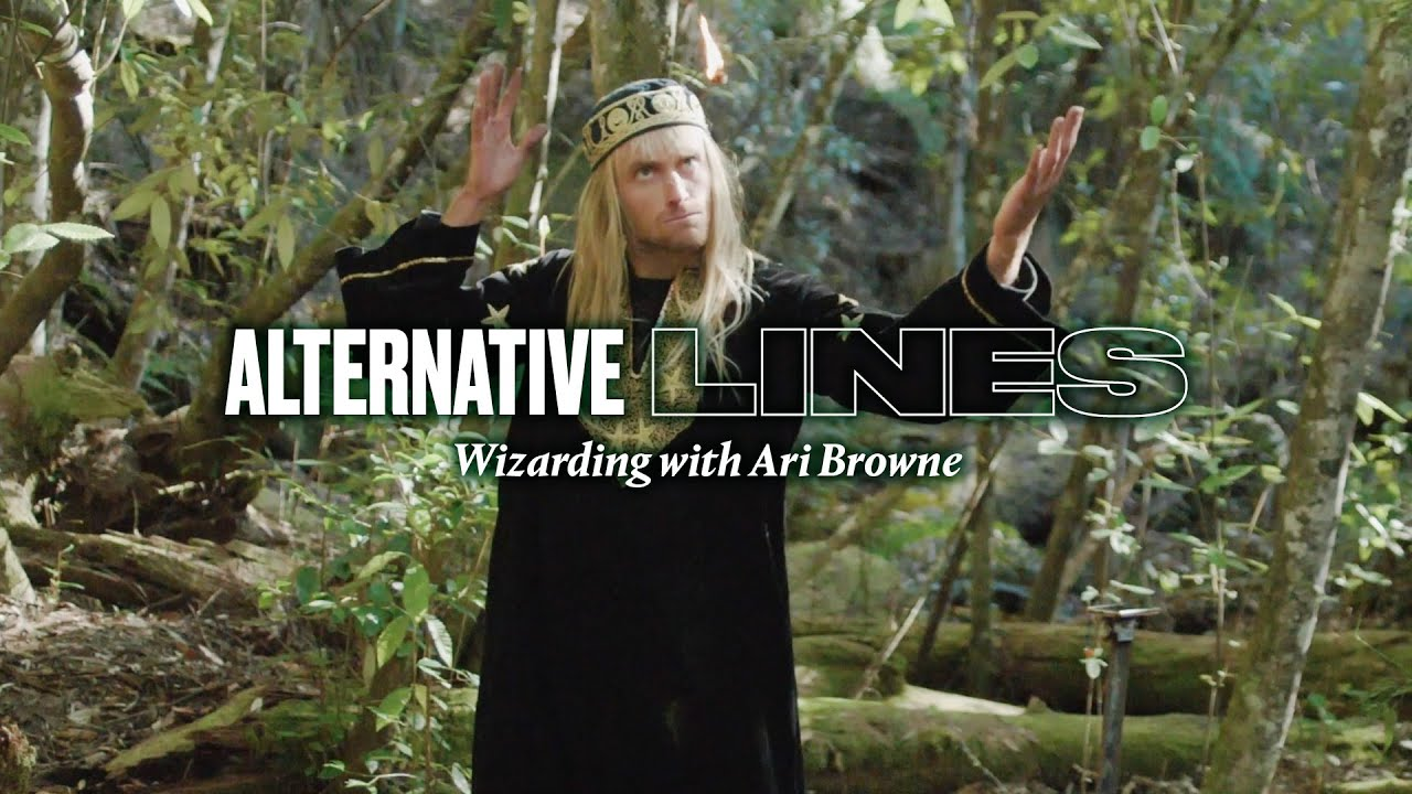 Wizards are Real and They Surf Finless  | Ari Browne's Alternative Lines