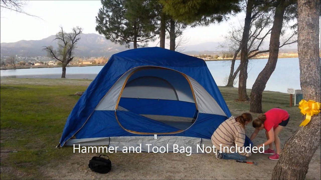 & Big 5 Golden Bear 12u0027 x 9u0027 Speed-up Tent #HW-Tent-3756 - YouTube