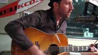 "Mat Kearney: ""Nothing Left to Lose"" at the 103.1 KCDA studio"