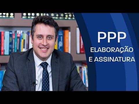 Quem é o responsável pela elaboração e assinatura do PPP?
