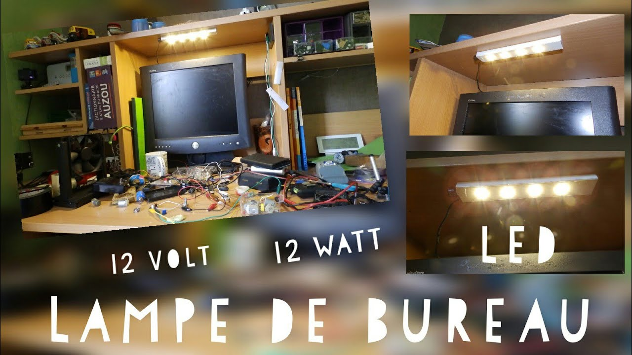 Comment faire une lampe de bureau led w diy led lamp youtube