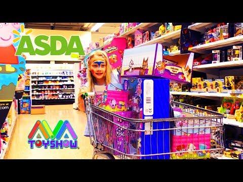ASDA Leicester Toys Shopping Spree