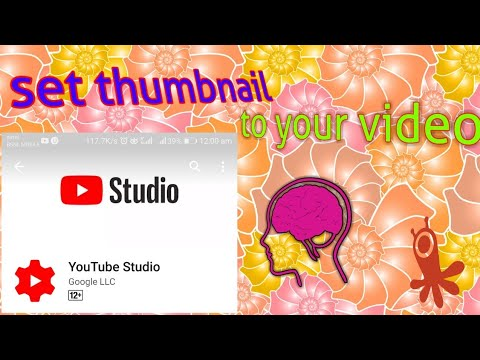 Set thumbnail to your video anytime anywhere by sandeep maheshwari