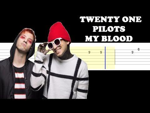 Twenty One Pilots - My Blood (Easy Guitar Tabs Tutorial)