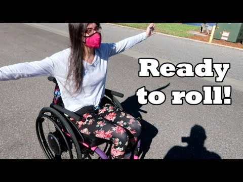 My Custom Wheelchair is Here! ♿🎉 (10/26/17)