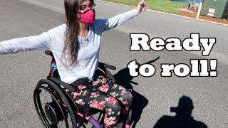 My Custom Wheelchair is Here! ♿🎉 (10/26/17)