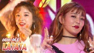 [HOT] (G)I-DLE - LATATA,  (여자)아이들 - 라타타 Show Music core 20180519 - Stafaband