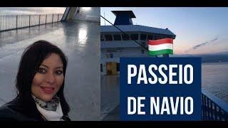 PASSEIO DE NAVIO NA ITÁLIA
