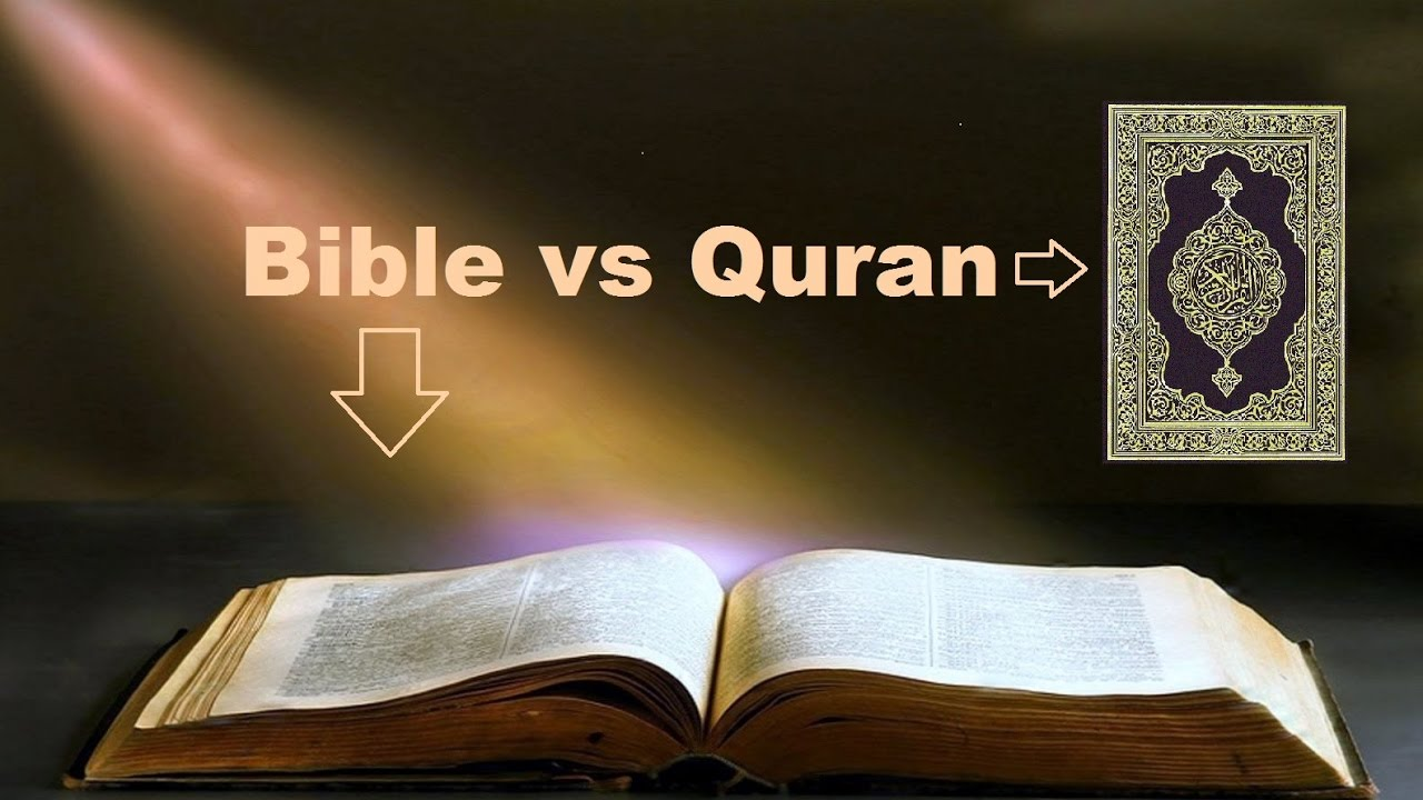 bible vs koran essay Quran vs bible free essay, term paper and book report both the quran and the bible depicts a universe of ideal morals that is, those who live according to their.