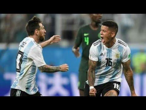 Argentine vs Manchester United Full Match (HD)  PES 2018 Argentine 6-0 Manchester United