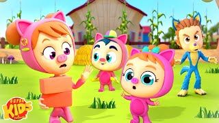 Three Little Pigs Story   Pretend Play Song   Story Time for Babies by Super Kids Network