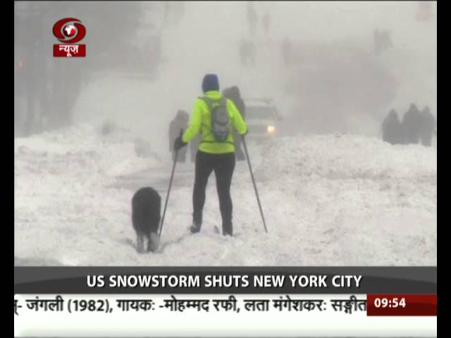 Blizzard brings US East Coast to standstill