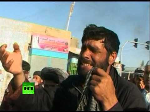 Video of violent Afghan protests over Terry Jones Koran burning