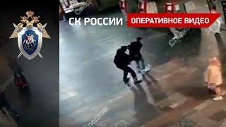 Смотреть видео Покушение на убийство двух человек на Курском вокзале в Москве онлайн