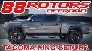 Toyota Tacoma 4x4 TRD Offroad, Sport, & TRD PRO on 285/70/17