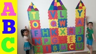 ABC Learning the Alphabet With My ABC Foam Puzzle Castle