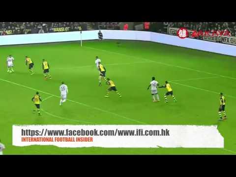 Swansea City 2-1 Arsenal Highlight 09/11/2014